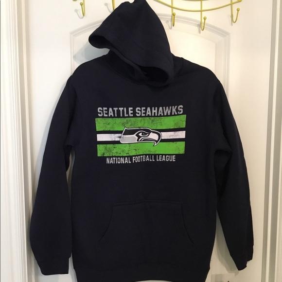 NFL youth 14/16 long sleeve Seahawks hoodie.